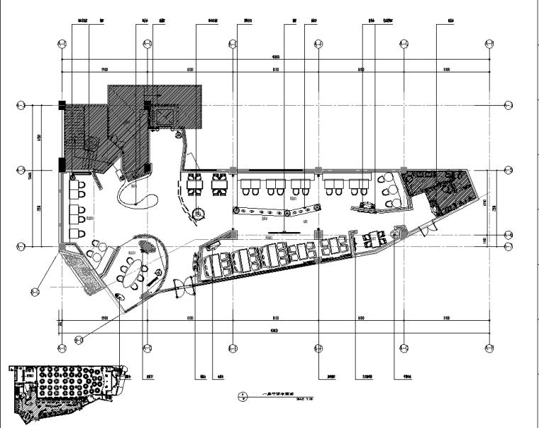 一品江南餐厅设计施工图(附实景图+竣工图)