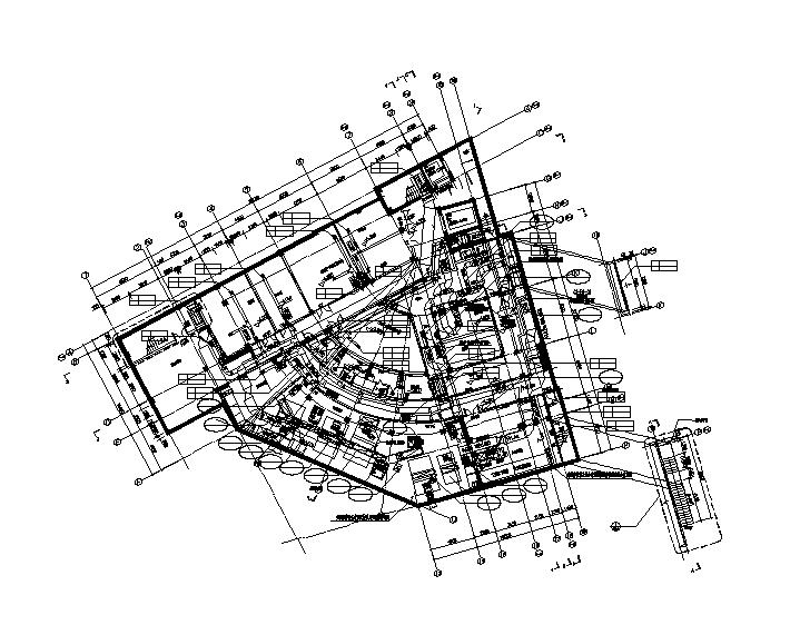 上海万科南站艺术中心暖通施工图