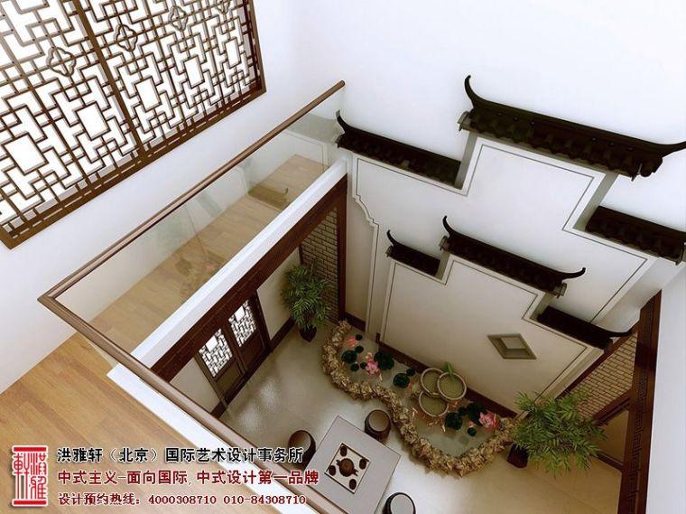 镇江现代别墅装修设计,古典高雅具备小清新格调_1