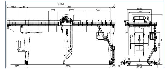 55T龙门吊专项施工方案