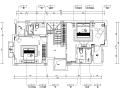 [宁波]详细全套简约中式三层别墅样板房施工图(含效果图+实景图+模型)