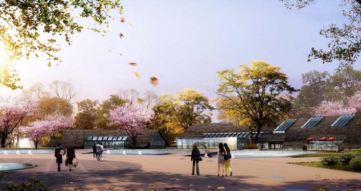 [四川]成都鱼凫时代生态度假区规划设计(田园)