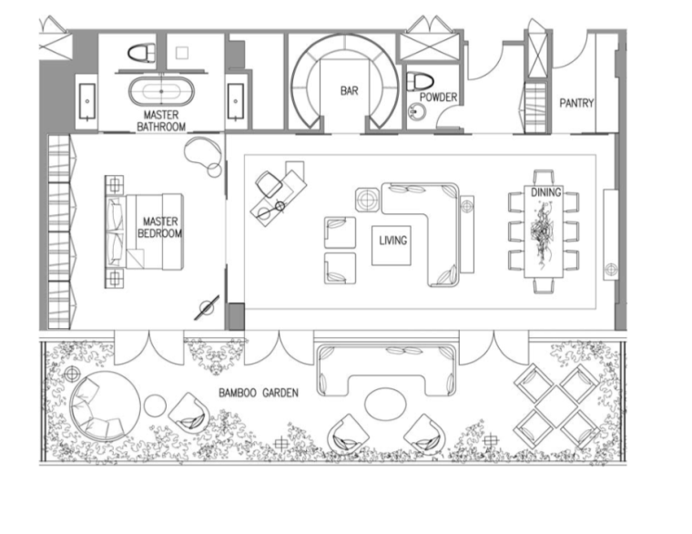 [广东]广州W酒店客房概念方案图