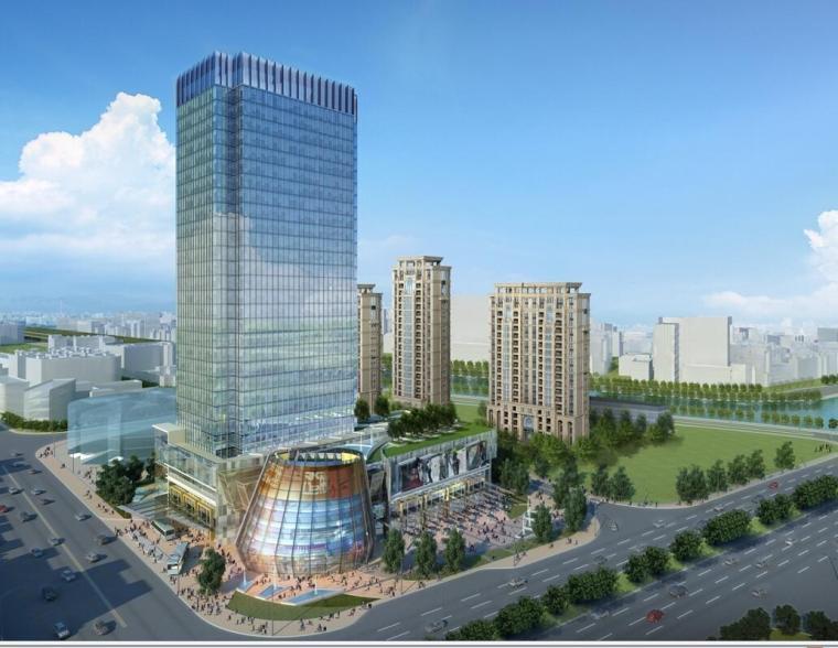 [上海]汉中路大型商业综合交通枢纽方案文本设计(PPT+36页)