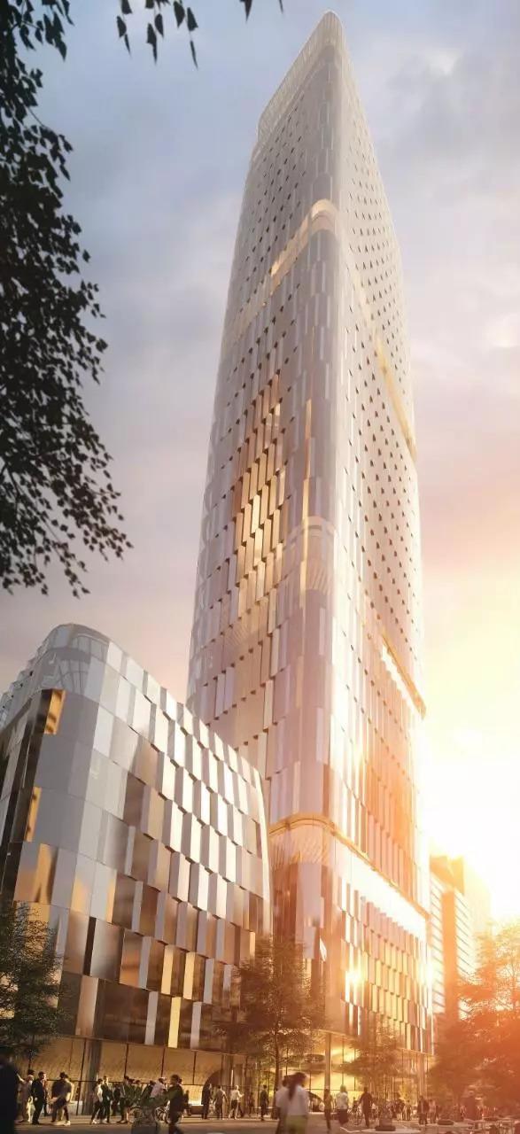奥克兰市中心高层建筑竞赛公布!扎哈、伍兹·贝格等五家事务所入_6