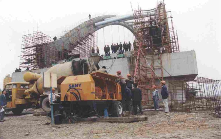 桥梁桥涵施工技术之二十一装配式拱桥施工(73页)