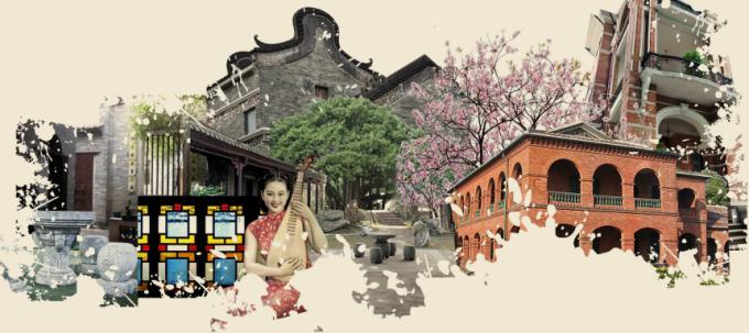[广东]岭南文化民国风情居住区景观设计方案