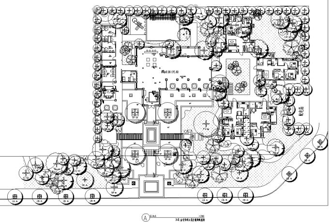 [四川]生态复合多层次花园洋房住宅区景观设计全套施工图