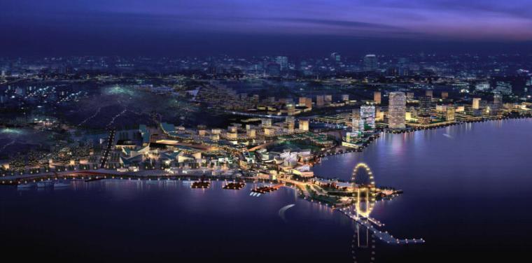 葫芦岛北港工业区商务园区起步区概念规划与城市设计