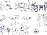 园林景观手绘临摹资料汇总