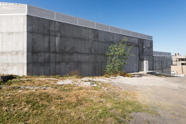 墨西哥服务钢铁Xray工厂建筑-4