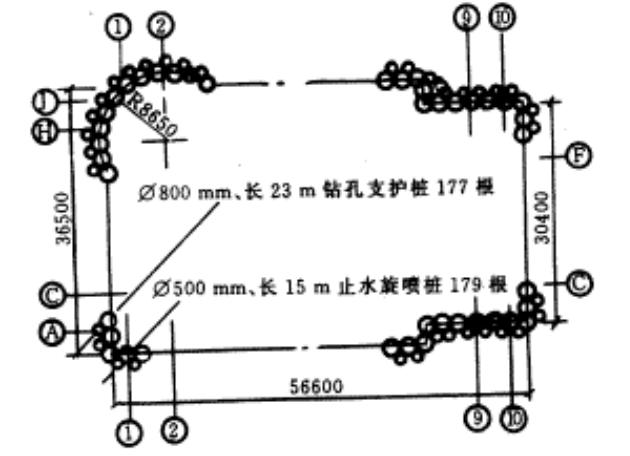 福州平安大厦深基坑支护设计与施工