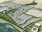 [河北]SOM石家庄滹沱新区城市规划设计方案