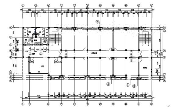 四层框架办公楼结构设计计算书(word,129页)