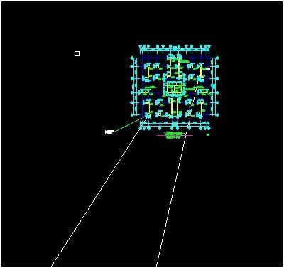 讲解施工总平面图与各楼图纸之间坐标的转换!_6
