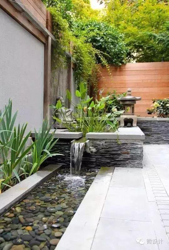有了院子,一定要造一个水景_5