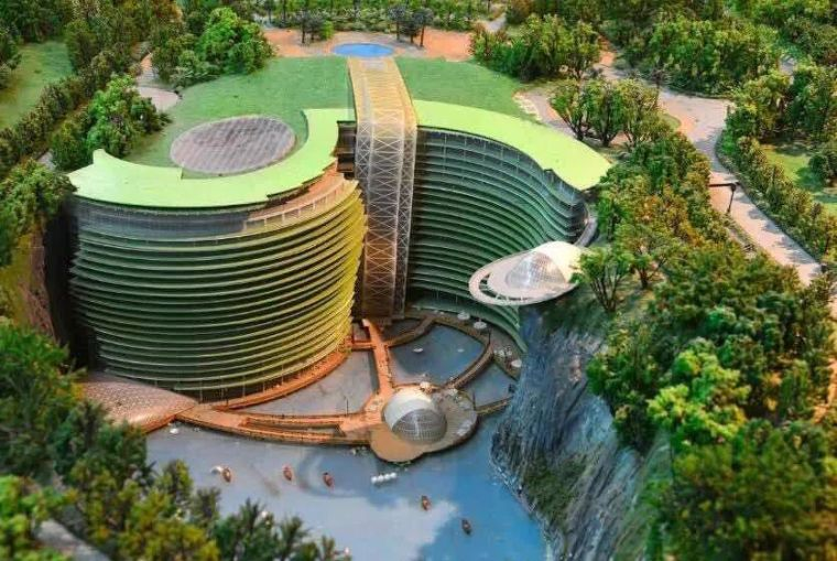 投入20亿的工程奇迹深坑酒店终于开业了,内部设计大曝光!_43