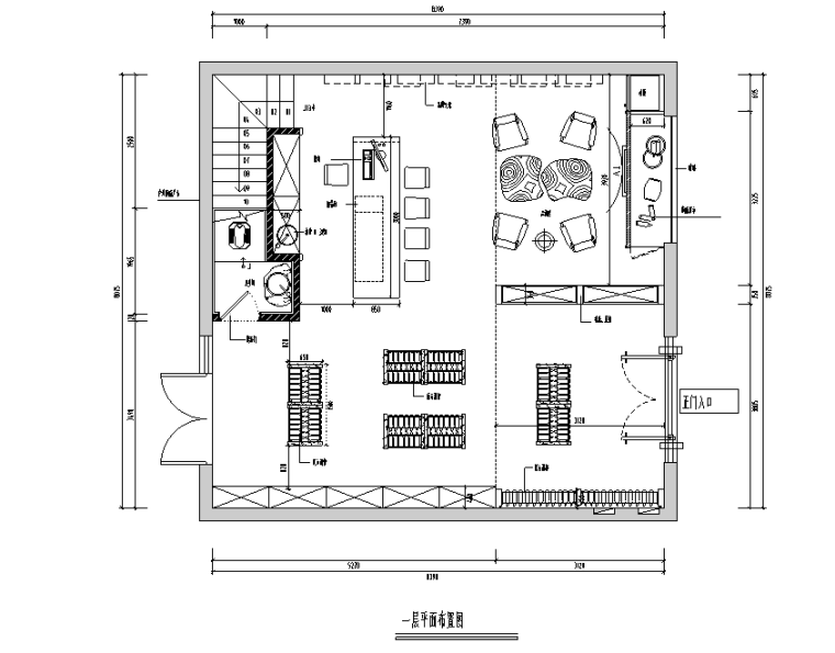混搭风格奥旭酒庄空间设计施工图(附效果图)
