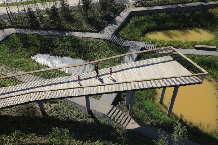 [黑龙江]海绵城市生态雨洪公园景观规划设计方案(附实景图)
