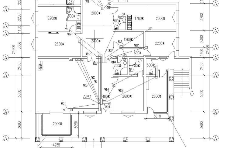 某北方别墅电气施工图纸