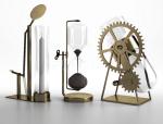 蒸汽朋克风铜质工艺品3D模型