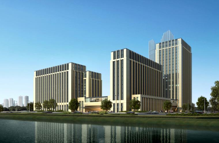 [广东]海运大厦最后文本办公方案设计文本(54页)