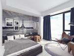 17套现代风格宾馆套房3D模型(上)
