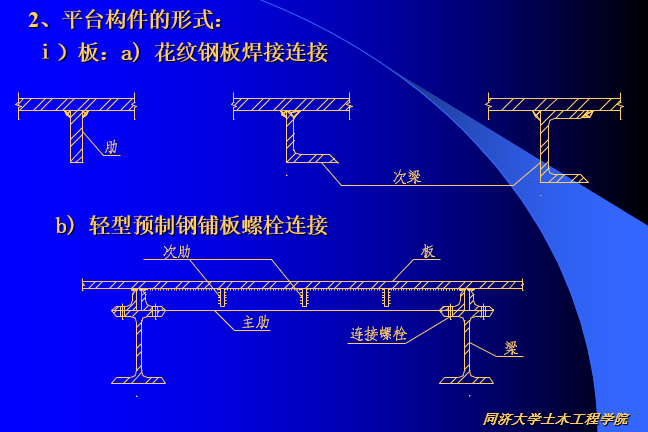 平台钢结构设计-同济大学