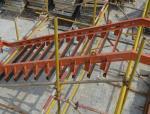 新型工具式可调节楼梯钢模板施工工法
