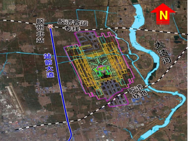 UPS在机场的应用资料下载-[青岛]国际机场枢纽地下结构设计交流