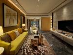 深圳前海东岸花园现代奢华样板房—灵感来自CocoChanel女士的样板房
