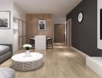 [北京]50㎡小户型现代简约风格住宅设计方案文本