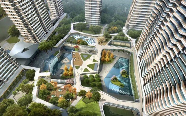 居住区|杭州示范区景观设计项目盘点_24