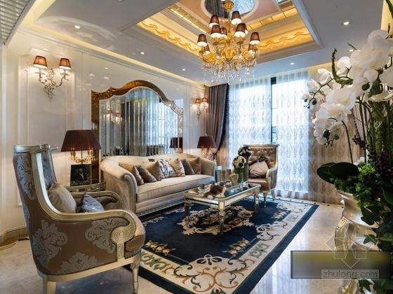 [杭州]220平方古典风格双层别墅室内装修图(含实景) 实景图