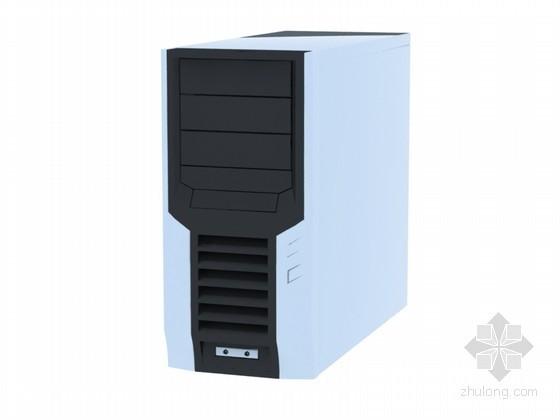 电脑主机3D模型下载