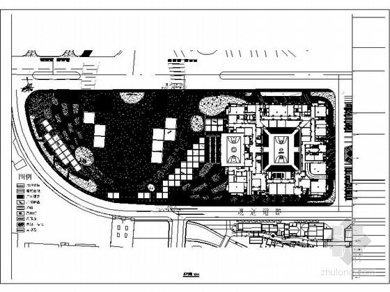 [四川]城市文化广场施工图
