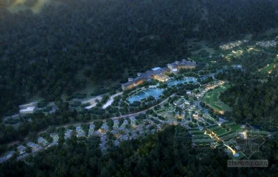 [江西]中式风格禅意温泉度假区规划设计方案文本