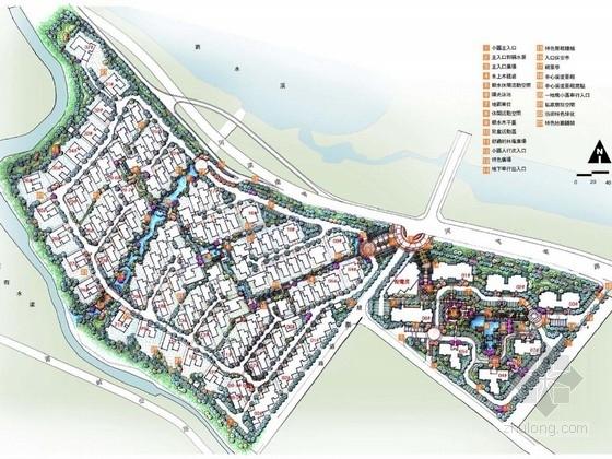 [福建]城市新古典主义居住区景观规划设计