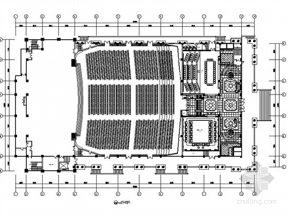 [江阴]国内著名男装企业集团欧式国际会议展览中心施工图