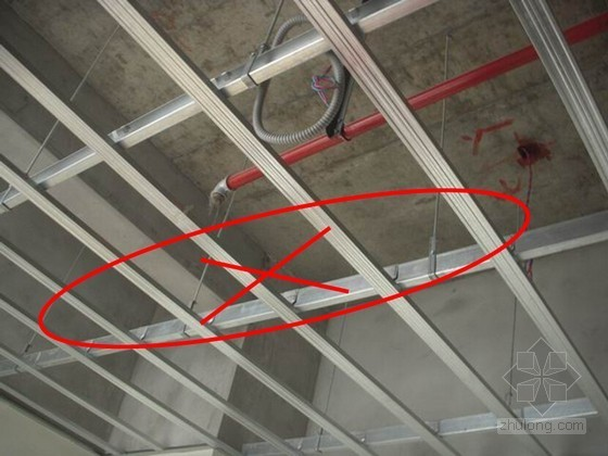 建筑装修工程吊顶工程质量通病及预防措施(图文并茂)