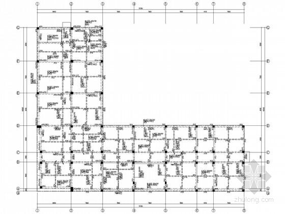 三层全现浇框架办公楼结构施工图