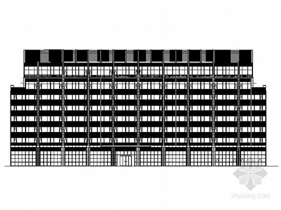 [贵州]新城区高层商业楼及酒店建筑设计施工图
