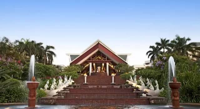 10家顶级酒店的整体景观设计,震撼人心...-亚龙湾喜来登度假酒店