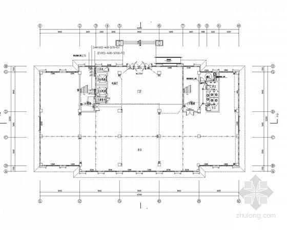 [安徽]嘉年华游乐园办公商业楼电气施工图(甲级院最新)