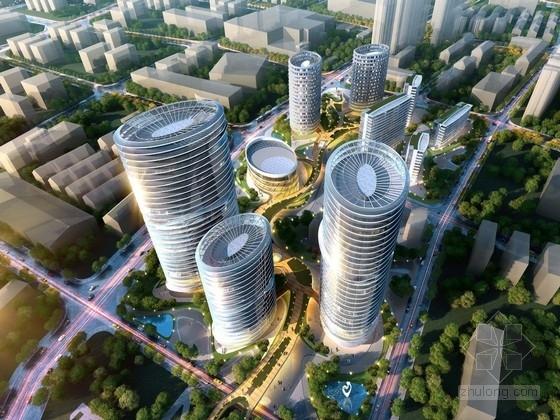 [上海]核心地块城市综合体规划设计方案文本(多个地块 知名地产)