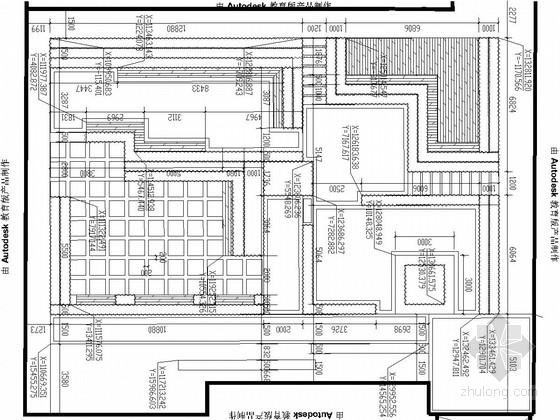 [长沙]社会福利院庭院景观工程施工图
