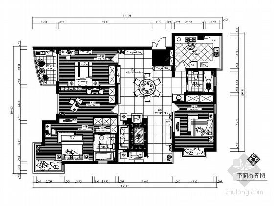 [宁波]名园小区欧式风格三居室装修图(含实景图)