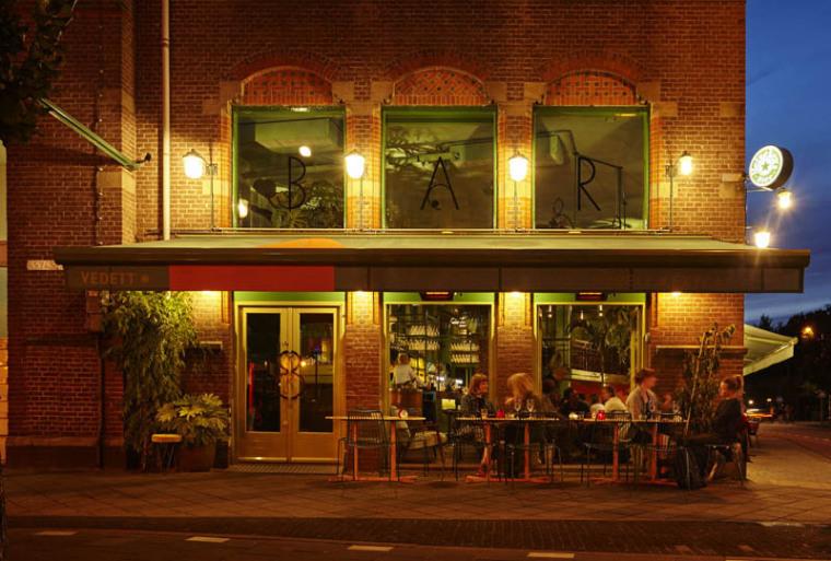 城市中的热带雨林阿姆斯特街角餐厅_3