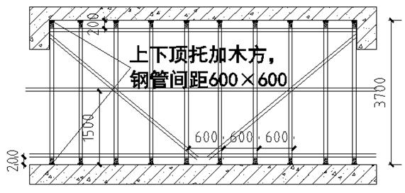 施工电梯基础施工方案(中房·颐园项目)