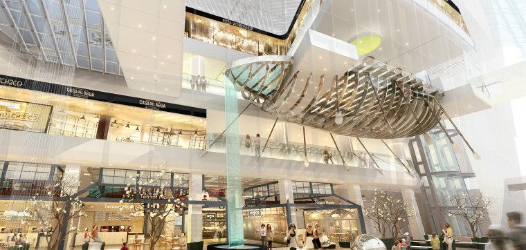 三迪中心商场设计施工图(附效果图+标识设计方案+SU草图模型+深化设计方案+概念设计方案)-0009[3]